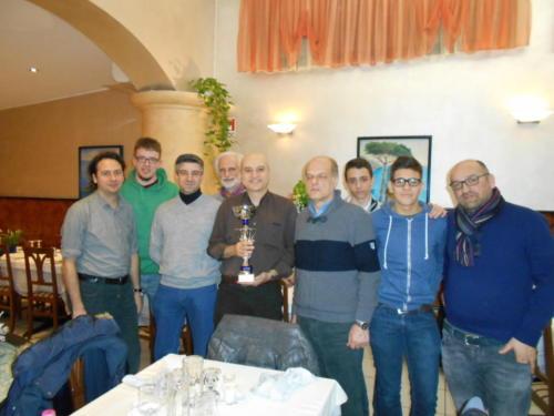 """2017: pizzata celebrativa per la vittoria nella serie """"Pioneer"""" del Trofeo Lombardia"""