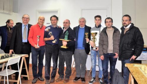 """Milano, gennaio 2017: Gallarate, prima classificata nella serie """"Pioneer"""" del """"Trofeo Lombardia"""""""